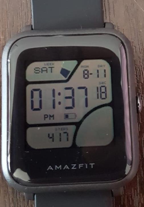 Creating custom watchfaces for Amazfit Bip